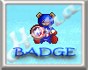 BADGE Cappy TeddyBear