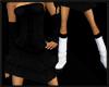 Black dress w/ boots