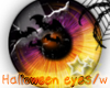 Halloween eyes w