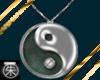 }T{YinYang necklace Jade