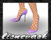 (L) Lilac Heels & Stckng