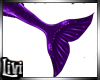 Merman Purple Tail