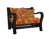 Autumn Halloween Chair