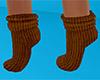 Brown Socks Short (F)