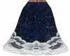 Blue  Epik Long Skirt CS