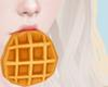 waffle - mouth