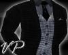 VP Fine Check Suit Top