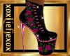 [L] PINK Rose Boots F