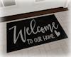 [Luv] Welcome Doormat