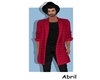 Jacket Red Male