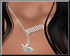 New F Necklace BUNNY
