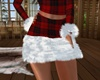 Furry Holiday Skirt