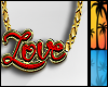 C| Love Female Necklace