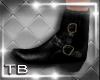 [TB] Black Biker Boots