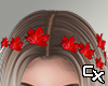 Leaves in Hair | Red
