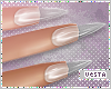 V Nails:Clear Plastic