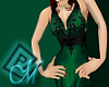 ~M~ Emerald Facets Gown