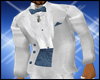 Blue & White Tux Jacket