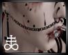 Unholy Cross Nose Chain