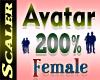 Avatar Resizer 200%