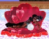 materassino love rosso