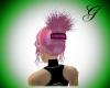 rose petal pink hair