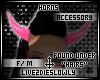 .L. Blush Horns