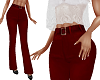 TF* Red Pants Waisted