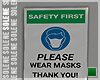 s | Wear Masks Sign I