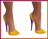 Shoes Violet Yellow
