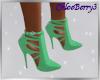 Gwenyth Heels Lime