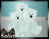 Mint Green Teddy Bears