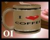 *OI* I Love Coffee Mug