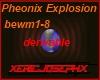 Pheonix explosion light