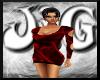 JjG Red Glitter Dress