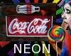 Neon Coke Sign