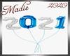 !a 2021 Sil/Blue Balloon