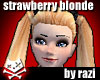 Strawberry Blonde Auzi