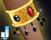 Sun Goddess Armbands