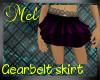 Gearbelt Skirt Purple