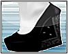 (S) She wears- Heels
