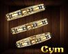 Cym Nefertari  Armbands