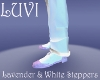 LUVI LAVENDER STEPPERS