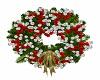 Silver n Teal Wreath