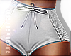 Retro Shorts White RLL