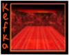 Red Nebula Starry Room