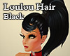 Loulou Hair Black