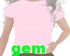 [g] kids pink top