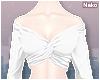 ♪ twist top - white