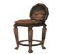 dirty bar stool
